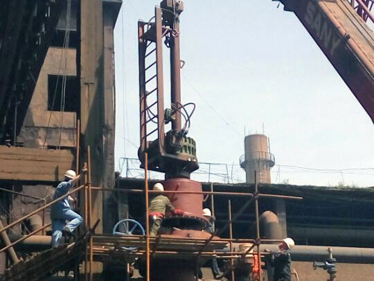 Xin Steel coke oven gas project